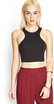 Forever 21 Cutout Back Crop Top