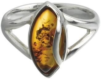 Nature D'ambre Nature d 'Ambre 3111174Women's Ring Silver 925/1000Amber