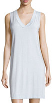 Hanro Champagne Tank Nightgown, Ashley Blue