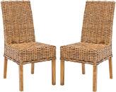 Safavieh Almond Dayton Side Chairs, Pair