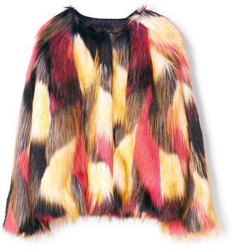 Finger In The Nose Debbie Faux Fur Jacket