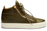 Giuseppe Zanotti Daniel mid-top leather trainers