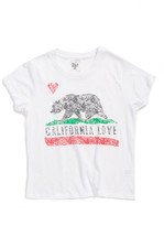 Billabong California Love Graphic Tee (Big Girls)
