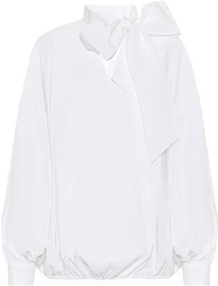 Valentino Cotton-blend blouse