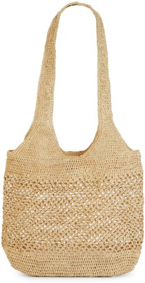 Mar y Sol Open-Weave Bucket Tote