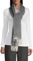 Thumbnail for your product : Eileen Fisher Two-Tone Wrap Scarf