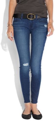 Lucky Brand Low-Rise Charlie Super Skinny