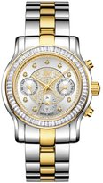 JBW Women's J6330F Laurel 0.09 Carat Stainless Steel Diamond Watch
