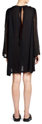 Ann Demeulemeester Peasant Cape Dress