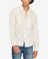 Denim & Supply Ralph Lauren Men's Floral-Print Poplin Shirt