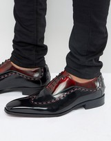 Jeffery West Capone Leather Oxford Shoes