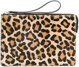 No.21 animal print clutch