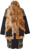 Ulla Johnson Shag Shearling Coat