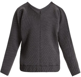 Charli Cohen - On The Qt Quilted Wool-blend Sweater - Grey