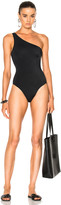 Norma Kamali One Shoulder Mio Swimsuit