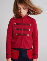 Marks and Spencer Cotton Rich Long Sleeve Jacket (3-14 Years)