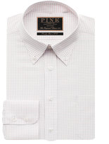 Thomas Pink Woodhouse Check Classic Fit Button Cuff
