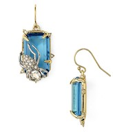 Alexis Bittar Swarovski Crystal Pavé Asymmetric Spider Drop Earrings