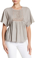 Anama Crochet Trim Blouse