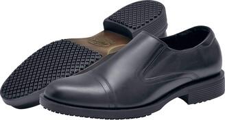 Shoes for Crews 1202-09-39/6/7 STATESMAN Men's Slip-on Leather Smart Shoe Non-Slip 6 UK