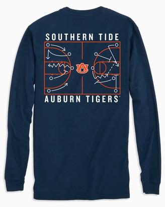 Southern Tide Auburn Tigers Long Sleeve Basketball T-Shirt