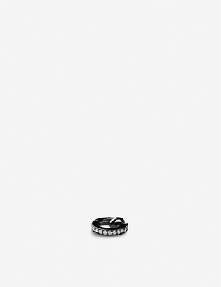 Repossi Berbere Module 18ct black-gold and diamond pavé ear cuff