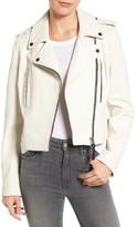 Derek Lam 10 Crosby Women's Leather Moto Jacket