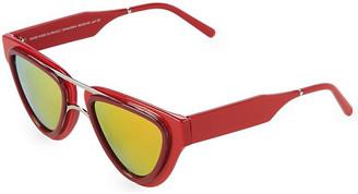 Smoke X Mirrors Sodapop V 49Mm Triangular Sunglasses