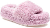 J/Slides Bryce Shearling Comfy Slippers