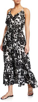 Kate Spade Palm Coverup Maxi Dress