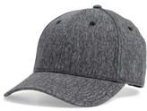 Rag & Bone Men's Tweed Baseball Cap - Black