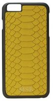 GiGi New York Personalized Embossed Python Leather iPhone 6 Plus & 6S Plus Case