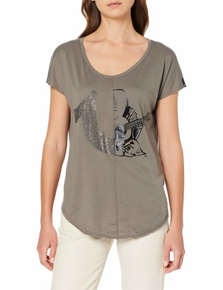 True Religion Women's T Shirt 2 Logo