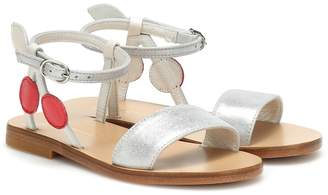 Bonpoint Cerise leather sandals