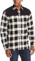 UNIONBAY Men's Flannel Pattern Shirt Jacket
