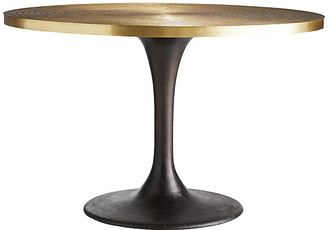 Arteriors Daryl entry table - Antiqued Gold