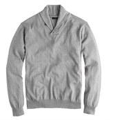 J.Crew Cotton-cashmere shawl-collar sweater