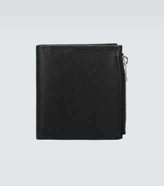 Maison Margiela Grainy embossed leather wallet