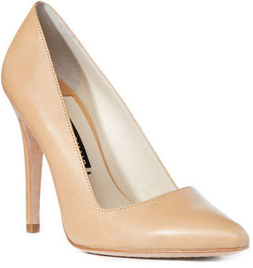 Alice + Olivia Dina Leather 95mm Pump