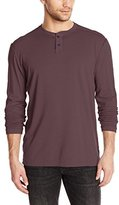 Agave Men's Kilchis Long Sleeve Supima Henley Shirt