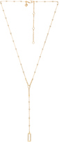 Rebecca Minkoff Geo Rectangle Y Necklace