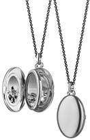 Monica Rich Kosann Silver Midi 4-Image Locket Necklace, 32""