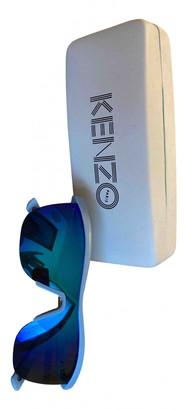 Kenzo Blue Plastic Sunglasses