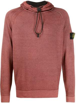 Stone Island knitted toggle-neck jumper