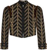 Gucci Metallic jacquard jacket