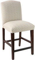 Skyline Furniture Indio Arched Counter Stool, Flax Dot