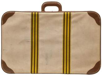 Hermes Brown Cloth Travel bags