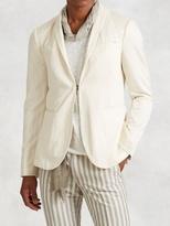 John Varvatos Cotton Silk Shawl Collar Jacket