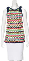 M Missoni Knit Sleeveless Top