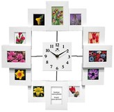 Infinity Instruments Time Capsule Clock-Frame Wall Clock White